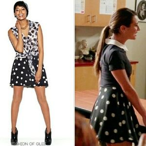 90's Polka Dot Skater Skirt - Made Fashion Week
